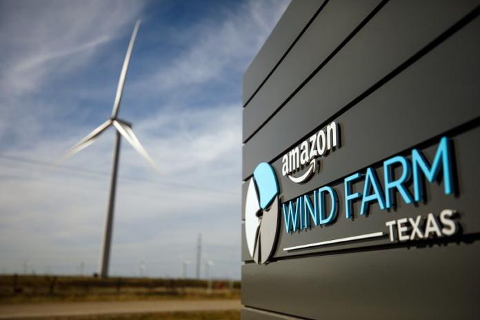 amazon, возобновляемые источники энергии,