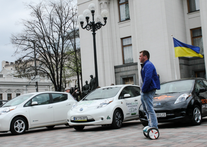 электрокары в Украине