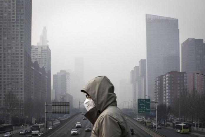китай выбросы