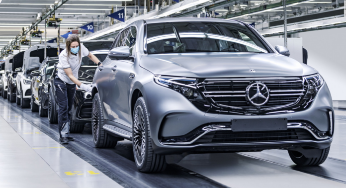Mercedes-Benz электромобили
