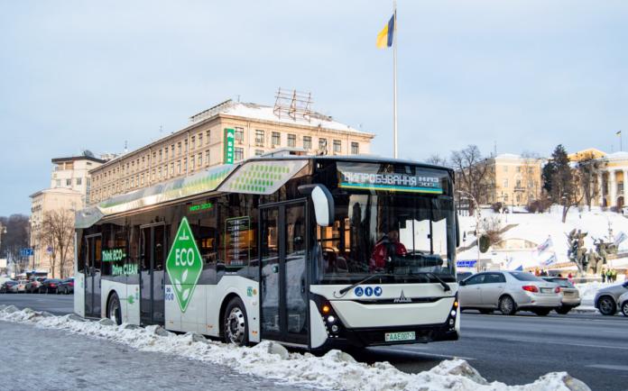 Киев электробусы