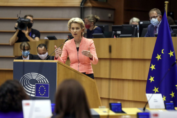 Урсула фон дер Ляйен Еврокомиссия ЕС