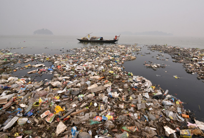 пластиковый мусор корея